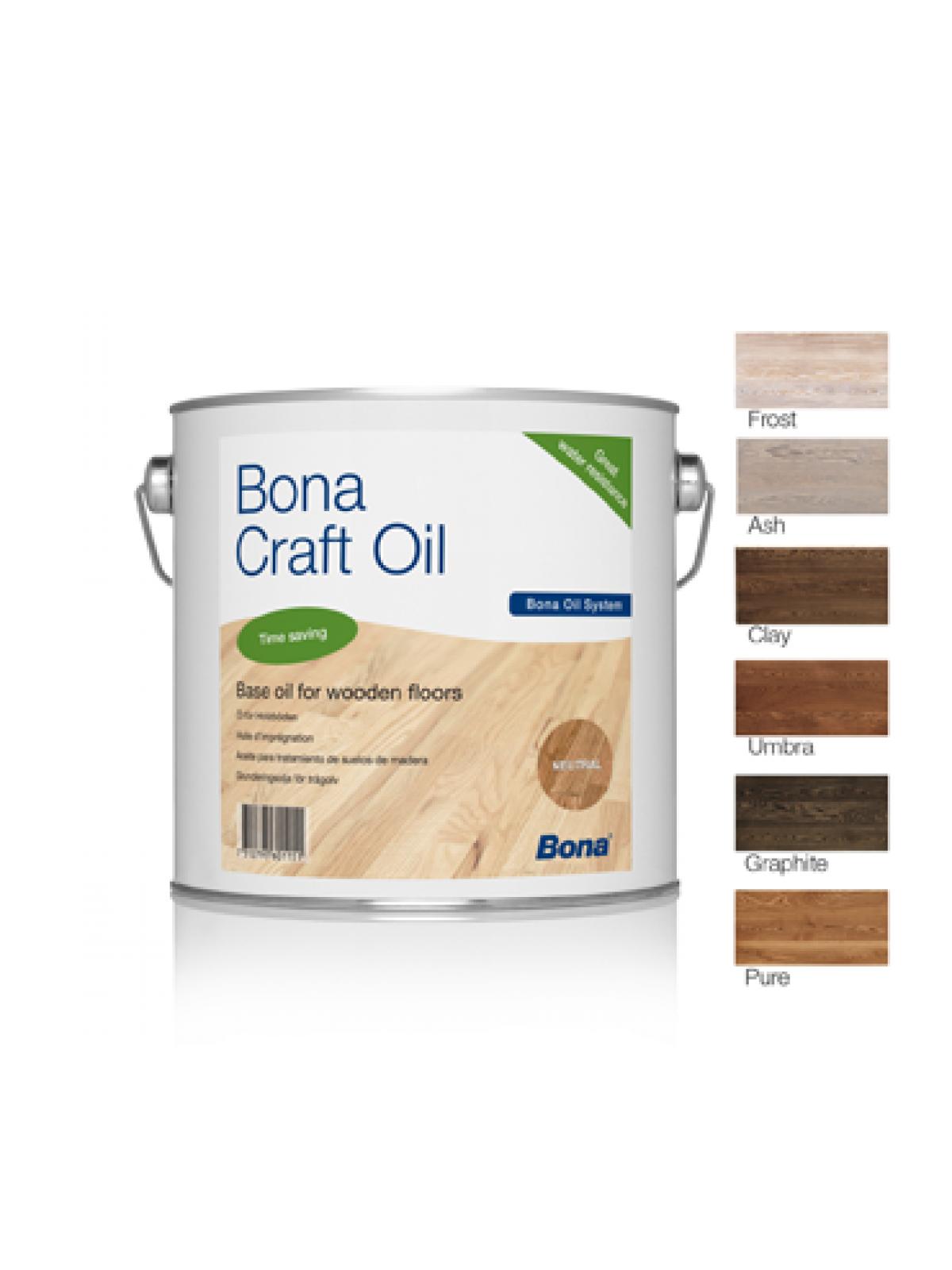 Ulei colorat Bona Craft 1l