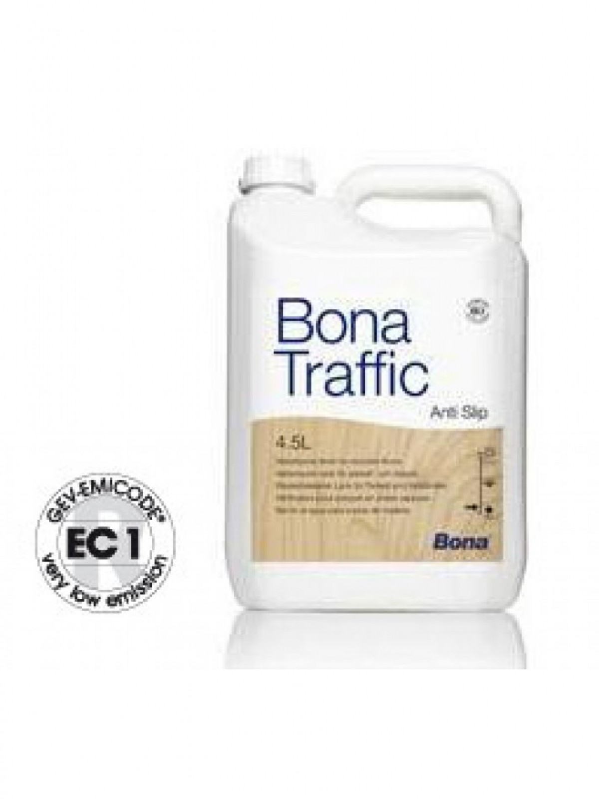 Lac poliuretanic bicomponent Bona Traffic anti-slip