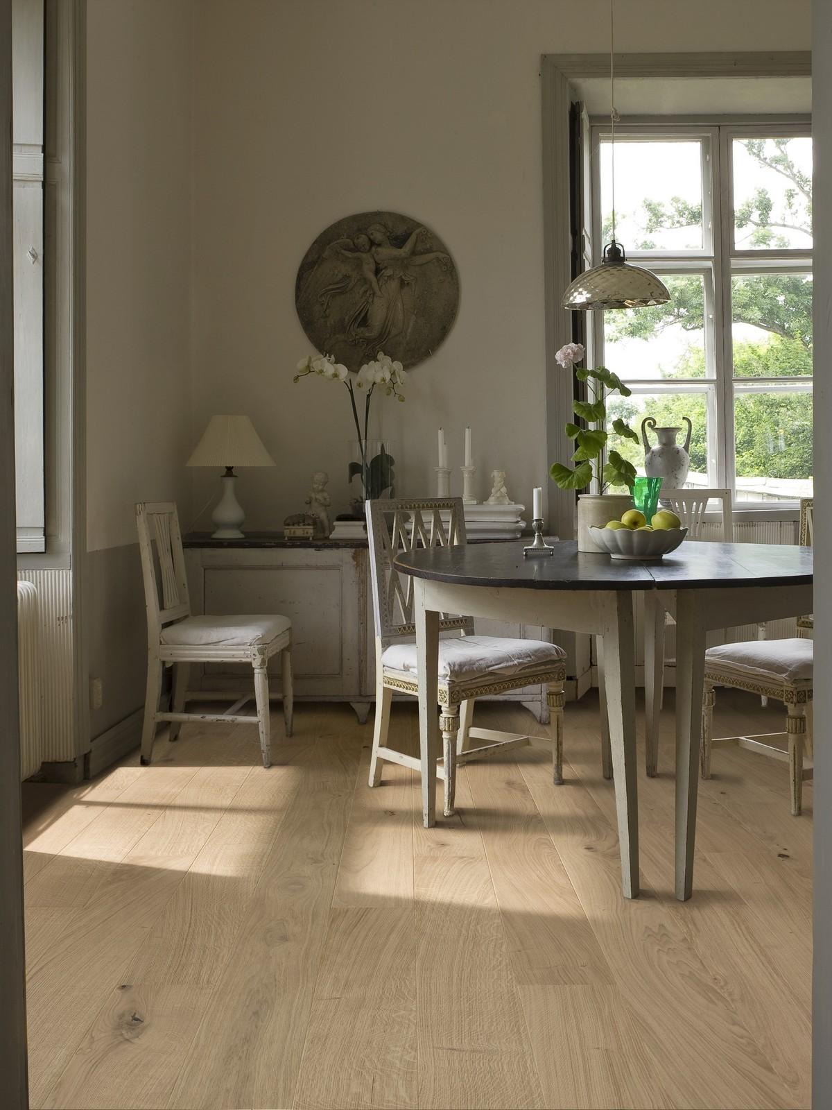 Parchet triplustratificat Stejar Nouveau White