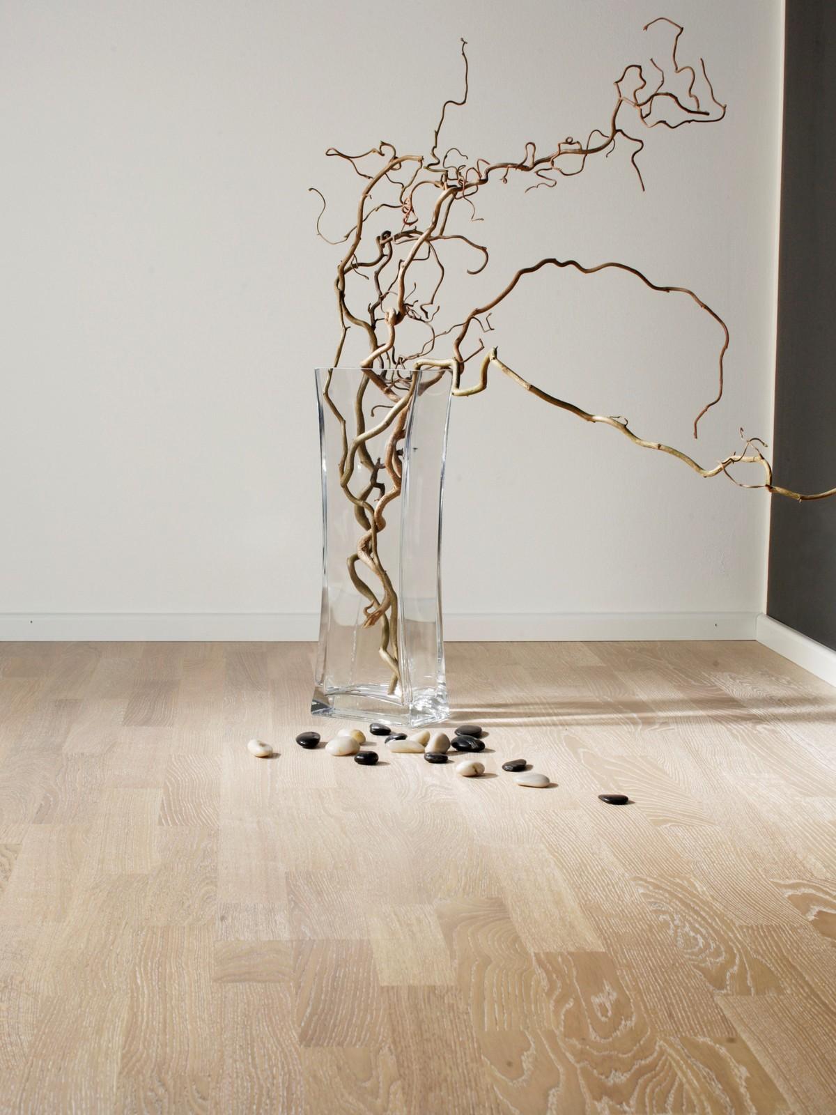 Parchet triplustratificat Stejar Ivory